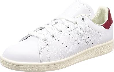 burlarse de Asombro Favor  Adidas Stan Smith-AQ0887 Zapatillas para Mujer, Footwear White/Collegiate  Burgundy, 5: Amazon.com.mx: Ropa, Zapatos y Accesorios