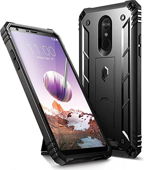 new arrivals 65ad6 1df9d LG Stylo 4 Case, LG Stylo 4 Plus Case, Poetic Revolution [360 Degree  Protection][Kick-Stand][Built-in-Screen Protector] Full-Body Rugged Heavy  Duty ...