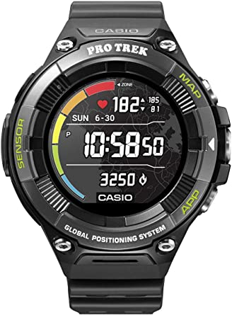 Casio Pro Trek Smart Reloj Digital Smartwatch Unisex con Correa ...