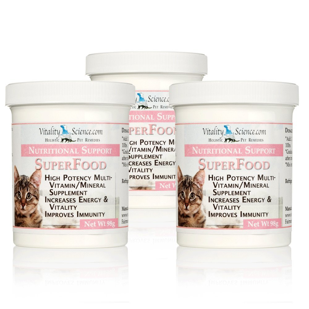 Super Food for Cats - Multi-Vitamin and Mineral Supplement