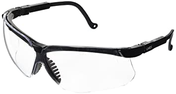 Honeywell S3200 Uvex Genesis Eyewear, Clear Lens, Black Frame ... 759a0c3094b7