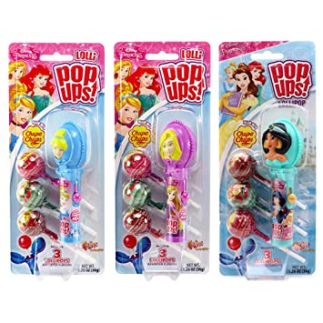 Disney Princess Pop Ups Lollipop - Estuche con paletas Chupa ...