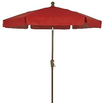 a077bb047b775 Image Unavailable. Image not available for. Color: FiberBuilt Umbrellas  Garden Umbrella, 7.5 Foot ...