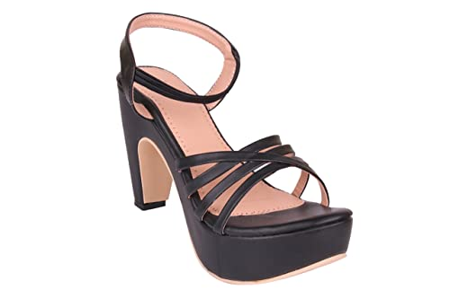 ecc5afd7582 Carrito Women S Pretty Sparkle Buckle Ankle Strap Mid Heel Small Bowtie  Platform High Heeled High Heel Suede Straps Thick High Heeled Formal  Sandals Block ...