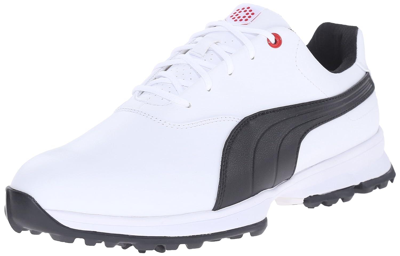 [プーマ] メンズゴルフAceゴルフシューズ 11.5 D(M) US White/Black/High Risk Red B013J6GCGM