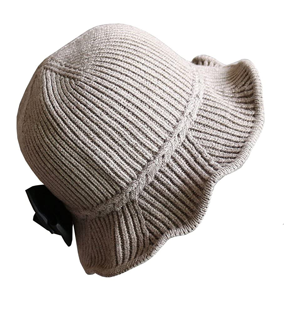Urban CoCo Womens Winter Warm Wool Cloche Bucket Foldable Hat Bingo E-commerce ID0129H