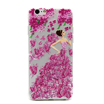 Amazon.com: PowerQ Transparent Colorful TPU Pattern Series ...