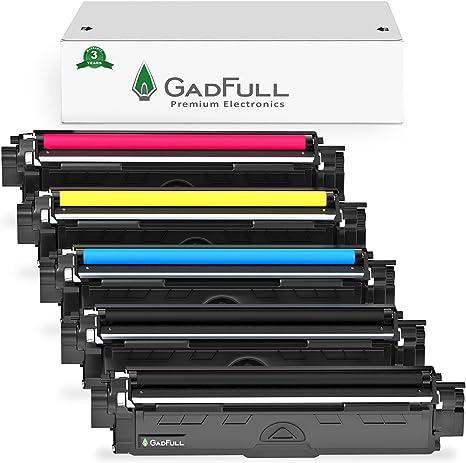 GadFull Paquete de 5 Tóneres compatibles con Brother HL-3140CW ...