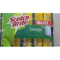 Scotch Brite - Estropajo de esponja clásico, resistente