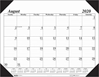 product image for House of Doolittle 2020-2021 Monthly Desk Pad Calendar, Academic, 17 Month, 22 x 17 Inches, August - December (HOD128-21)