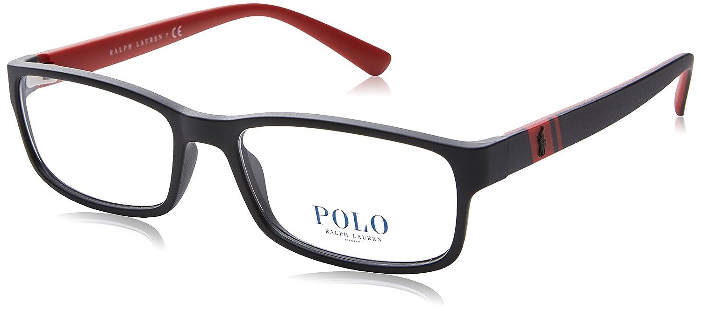035b28a28ea Polo Men s PH2154 Eyeglasses Matte Black 56mm at Amazon Men s Clothing  store