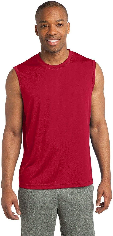 1 Pcs Mens Sport Sleeveless Dri fit Muscle Shirt Performance XS-4XL