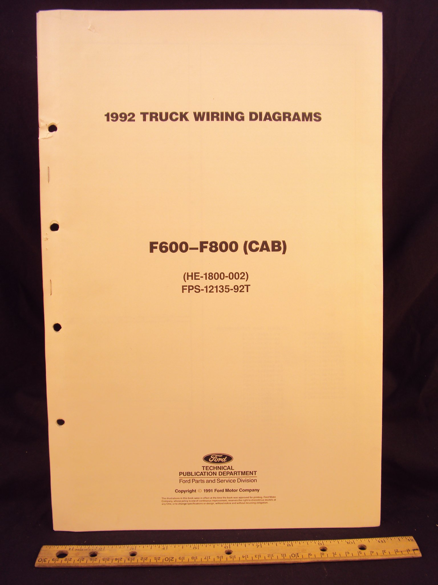 Ford    F700 Truck    Wiring    Diagrams      Wiring    Library