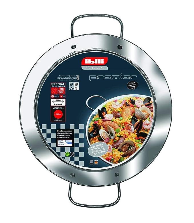 IBILI 652228 - Paellera INOX Premier 28 Cms.