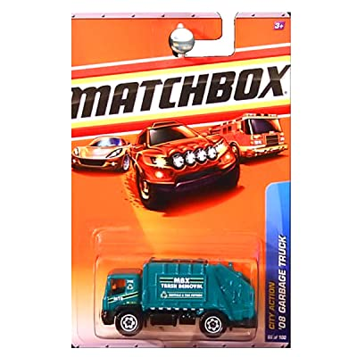 Matchbox 2010 City Action 2008 Garbage Truck Trash Removal Green Recycle: Toys & Games