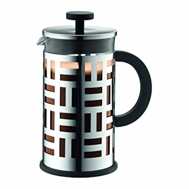 Bodum Eileen 8 Cup French Press Coffee Maker, 1.0 l, 34-Oz, Chrome