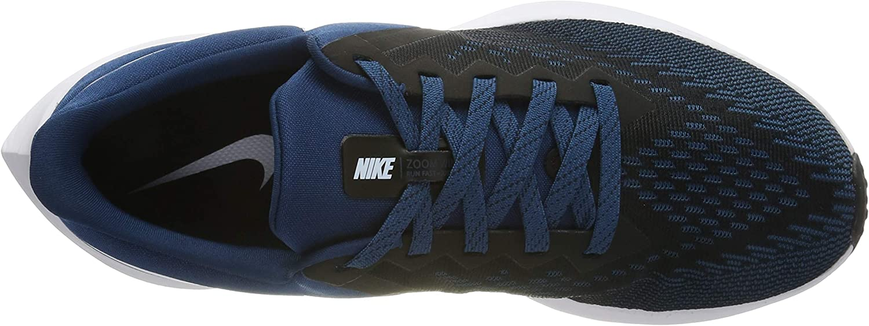 Nike Men's Air Zoom Winflo 6 Track & Field Shoes Black (Black/Topaz Mist/Blue Force/White 005)