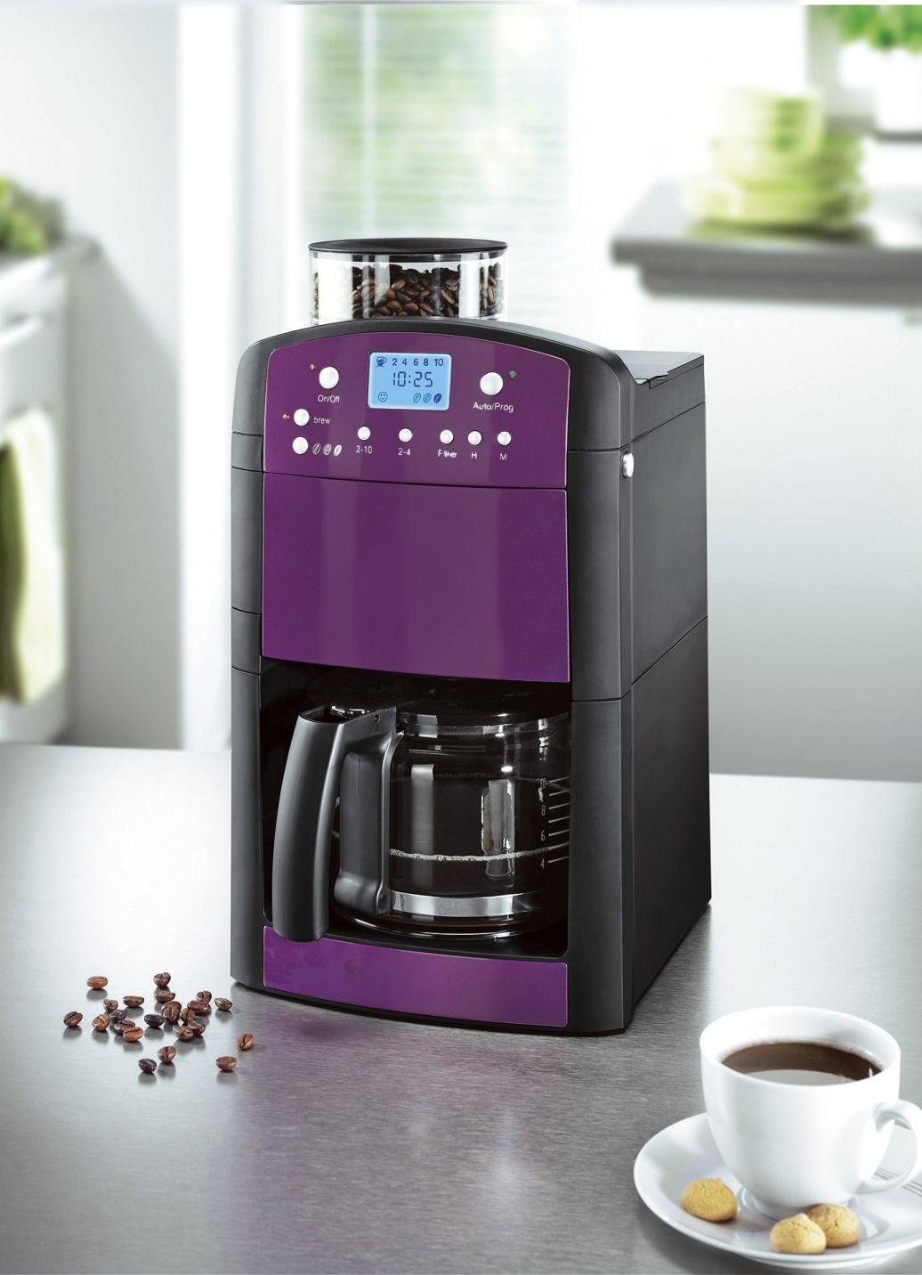 BEEM Germany Fresh-aroma-Perfect Deluxe, cafetera muele ...