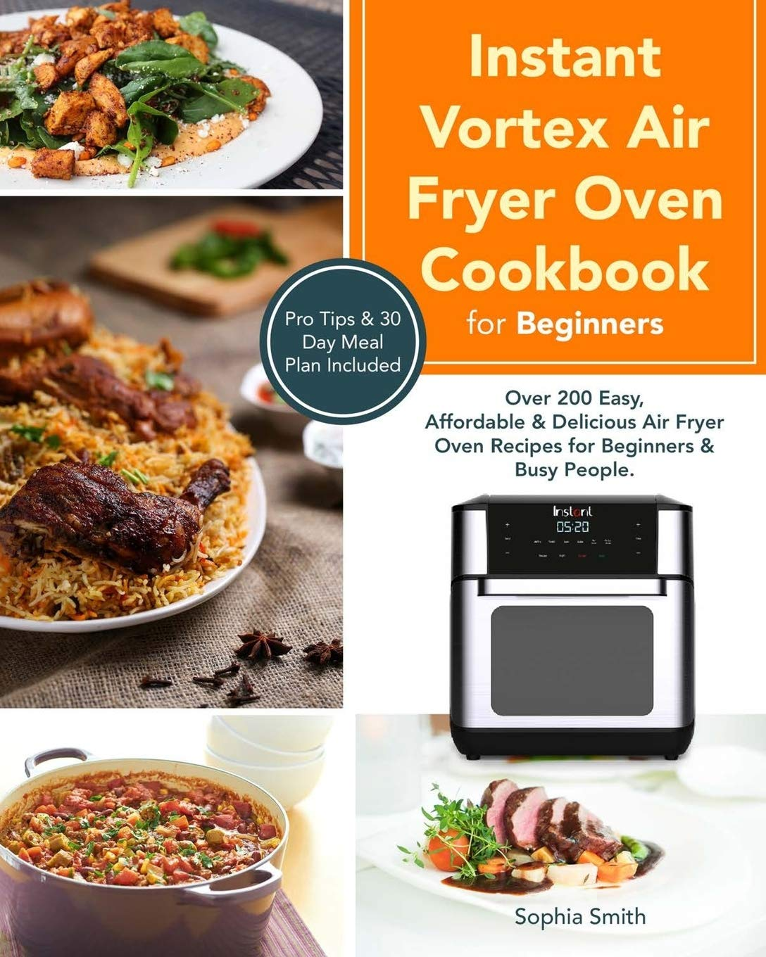 Instant Vortex Air Fryer Oven Cookbook For Beginners Over 200