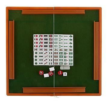 Juguetes Juegos De Mesa Mini Mahjong Chino Tradicional Engraving