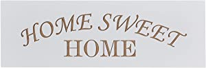 Carol's Inspirations Home Sweet Home Decor Sign | Farmhouse Style Engraved Wooden Wall Art | Hanging Wood Plaque for Living Room, Bedroom, Kitchen | Handmade in USA, 18x6 Inches