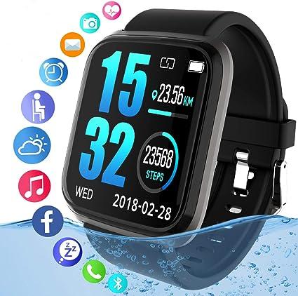Amazon.com: Reloj inteligente, reloj de actividad con ...