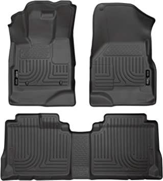Husky Liners 98131 Custom Fit Front And Second Seat Floor Liner
