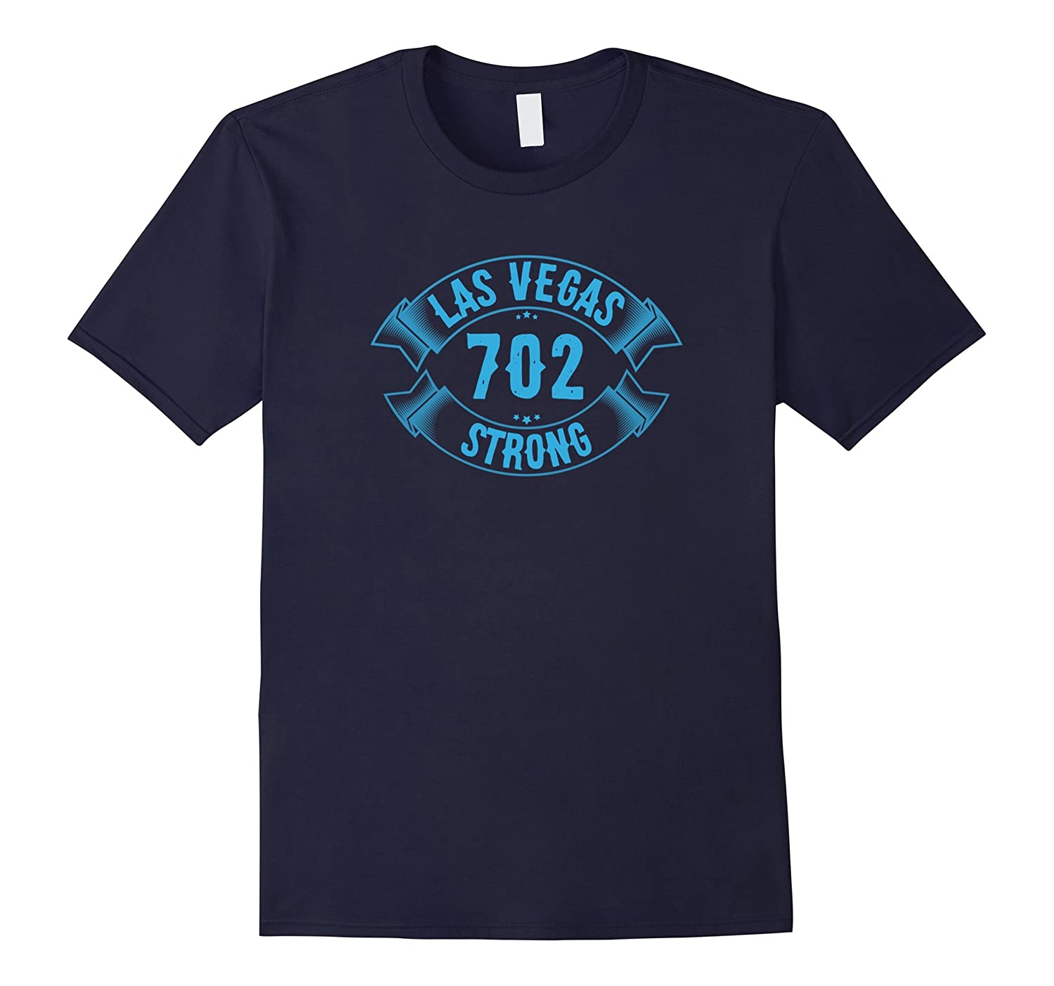 Las Vegas 702 Strong TShirt Distressed Vintage Area Code Tee-T-Shirt