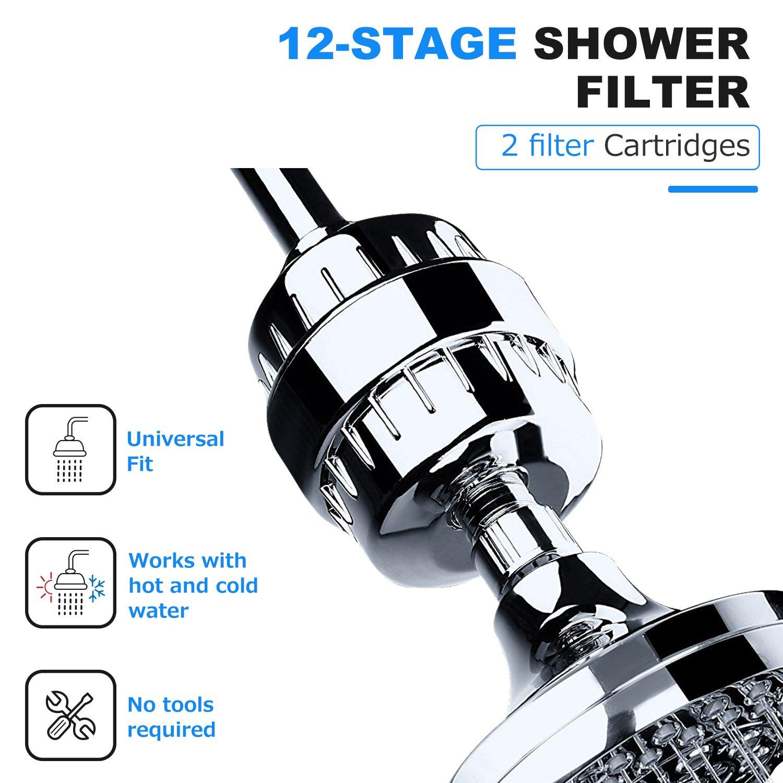 Filtri doccia  TAPCET depuratore  da 10 livelli con un depuratore di acqua del bagno con certificazione CE