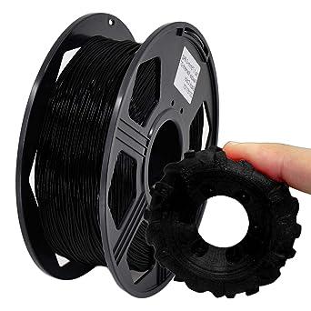 1 kg per Spool 1.75mm 5 Spools 5 Assorted Colors Basics TPU 3D Printer Filament