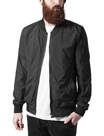 Light Bomber Jacket Urban Classics Streetwear Giacca Uomo at ...