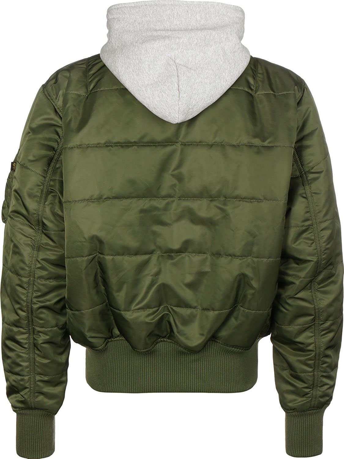 a715b64a53482 Alpha Industries MA-1 D-Tec Puffer OS Bomber Jacket  Amazon.co.uk  Clothing