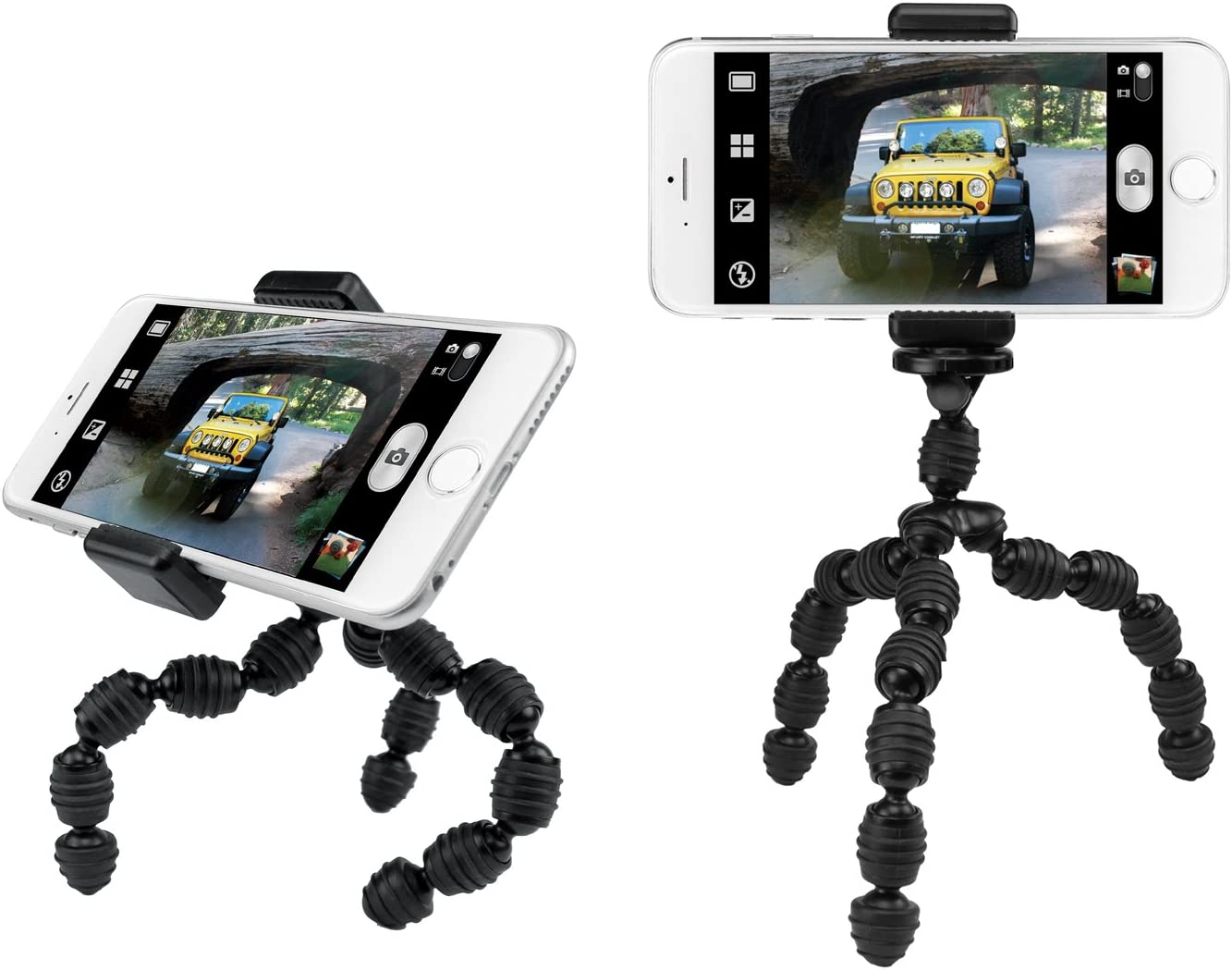 Cell-Stuff Flexi Tripod Stand Compatible w//Samsung S8