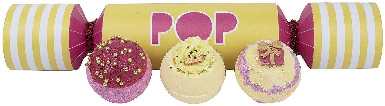 """Bomb Cosmetics, confezione """"Pop"""" da 3 bombe da bagno GPOPCRA06"""