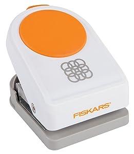 Fiskars 123990-1001 Intricate Shape Punch, Running in Circles