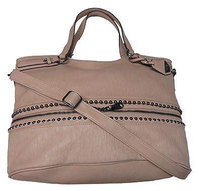 f4f48028cbf Jessica Simpson Women's Large Ravenna Handbag, Tawny/Tan: Handbags ...