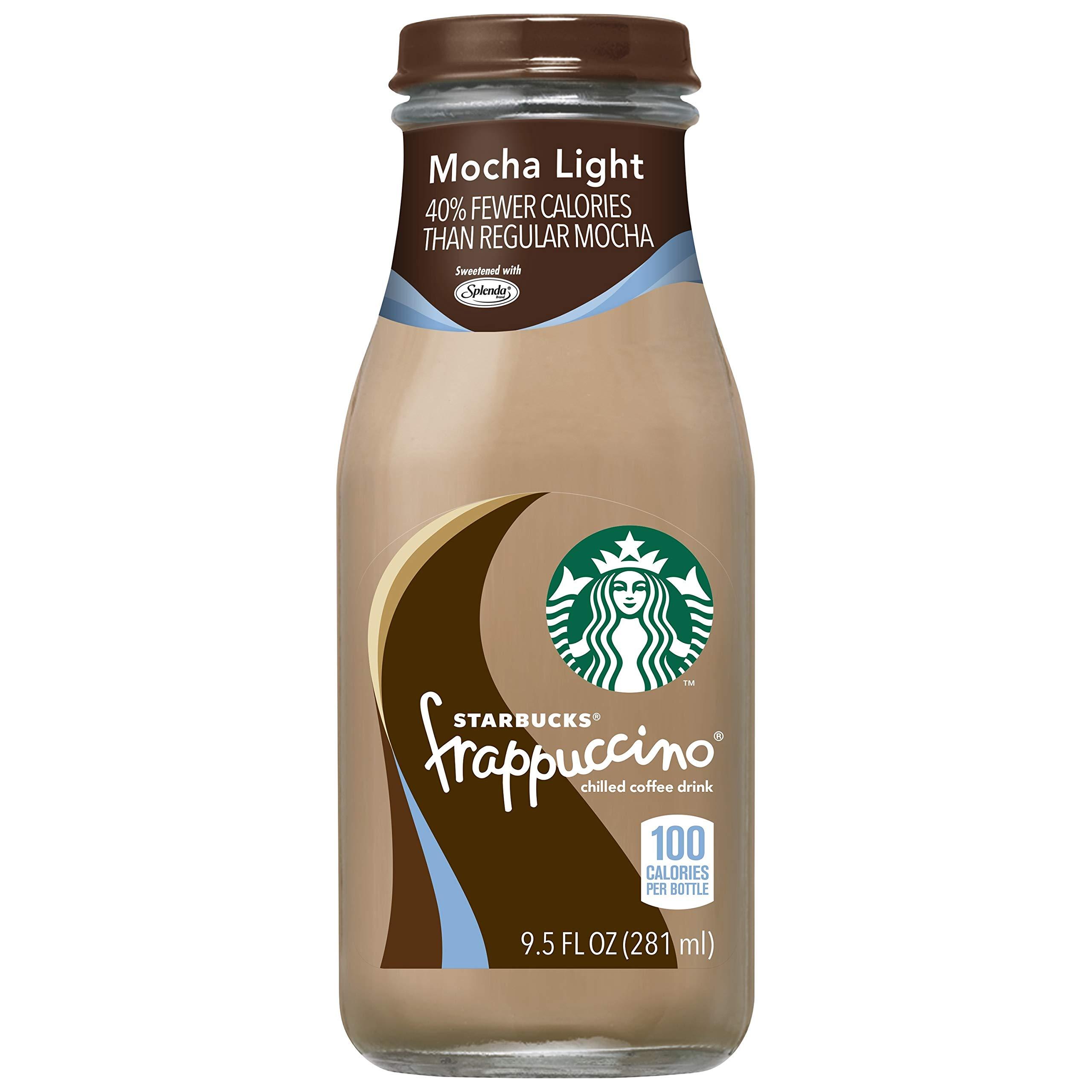Starbucks Frappuccino, Mocha Light, 9.5 Fl Oz (15 Count) by Starbucks