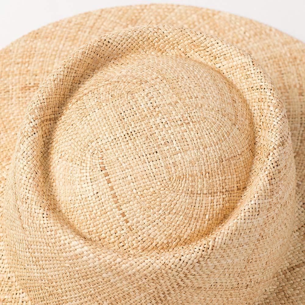 Zce Sonnenhüte, Einfacher Einfacher Einfacher Breiter Hut Baodou Hut Travel Sonnencreme Strand Schatten Strohhut,A B07QCVFJ1Q Hüte Kostengünstig 825ad7