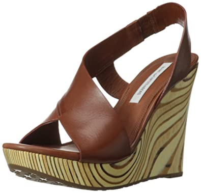 cheap largest supplier Diane von Furstenberg Sunny Wedge Sandals amazon cheap price cheap real authentic cxq1aPX
