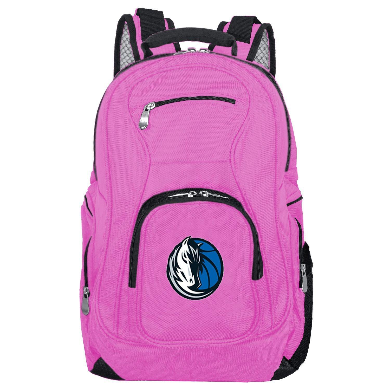 NBA Dallas Mavericks Voyager Laptop Backpack, 19-inches, Pink