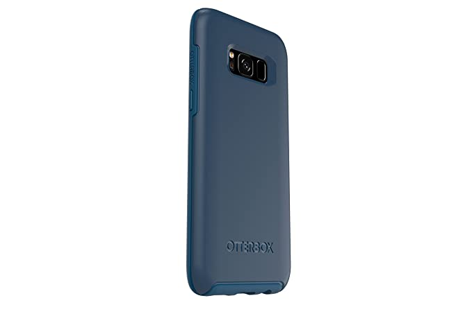 quality design d90c6 95a47 OtterBox SYMMETRY SERIES for Samsung Galaxy S8 - Retail Packaging - BESPOKE  WAY (BLAZER BLUE/STORMY SEAS BLUE)