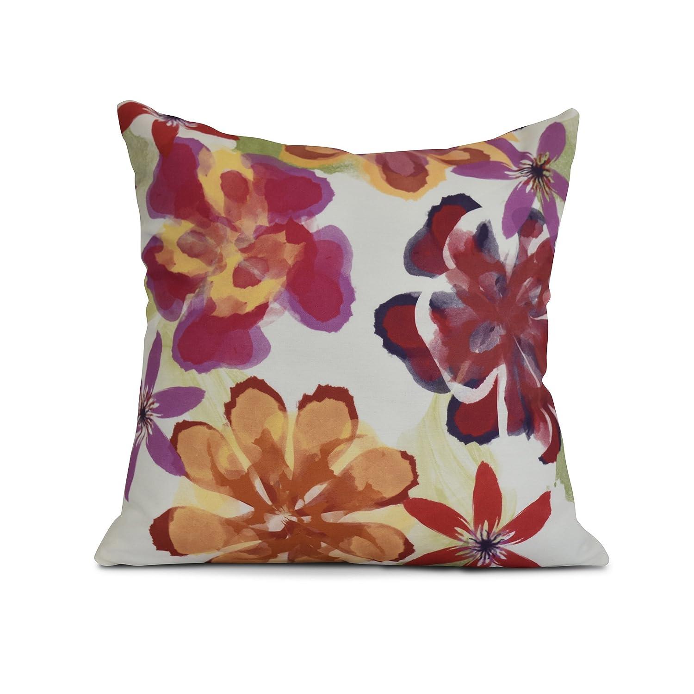 The Pillow Collection Jicarilla Floral Bedding Sham Jet Euro//26 x 26