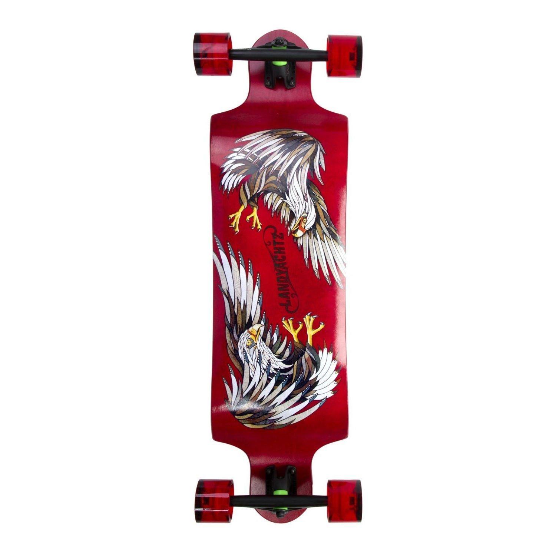 Longboard Completeスイッチ35 Eagleレッド9.5