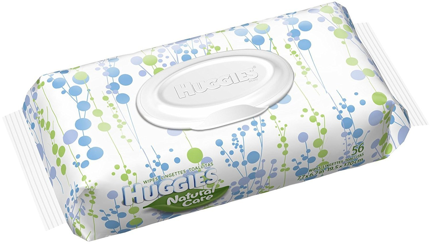 Huggies Natural Care Fragrance Free Baby Wipes X 56 CT (Pack of 16): Amazon.com: Grocery & Gourmet Food