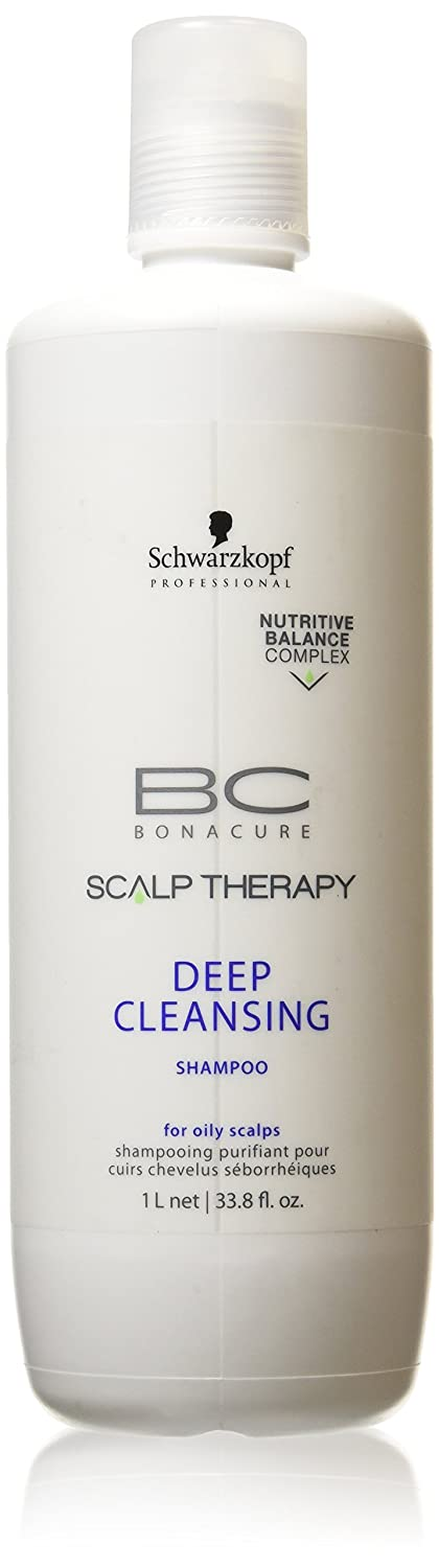Schwarzkopf Bc Scalp Therapy Deep Cleansing - Champú, 1000 ml