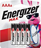 Energizer AAA Batteries (8 Count), Triple A Max Alkaline Battery