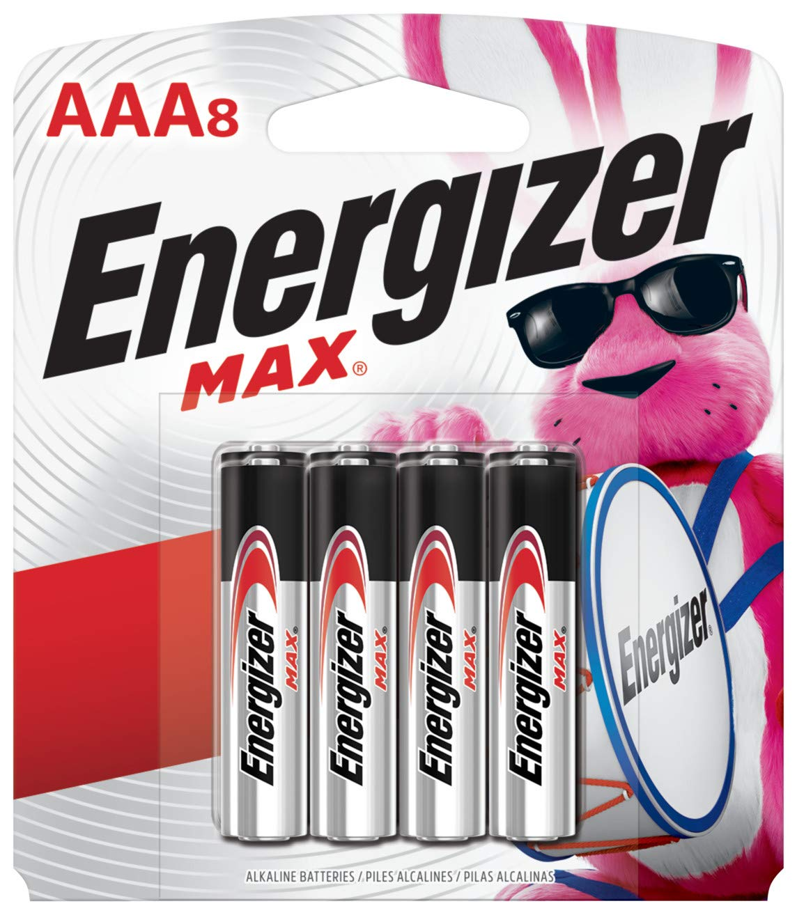 Triple Aaa Number >> Energizer Aaa Batteries 8 Count Triple A Max Alkaline Battery Packaging May Vary