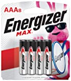 Energizer AAA Batteries (8 Count), Triple A Max