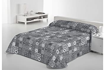 Sabanalia Rustik Tagesdecke Feine Dekoration Grau Bett 200 300 X
