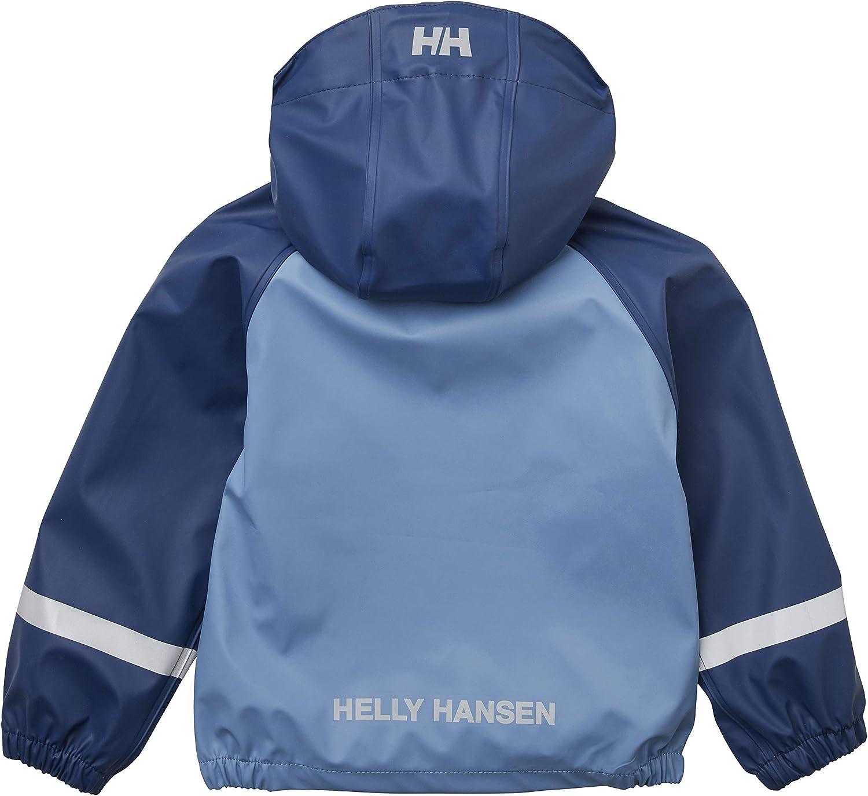 Unisex ni/ños Helly Hansen K Bergen PU Impermeable Conjunto de Chaqueta y Pantalon